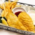 料理メニュー写真フィッシュ&チップス(1P)