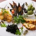 料理メニュー写真Hors-d'oeuvre varie's (前菜の盛り合わせ)