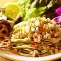 料理メニュー写真【月2回限定】Hawaiian冷製ロミロサーモンのバジルSOBA