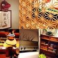 """""""和""""の心を大切にした「もつ焼きと日本の旨いもん」がメインのお店です。店内は日本伝統の技術を取り入れた装飾をメインに酒蔵にの蔵の中にいるようなイメージでデザインいたしました。"""