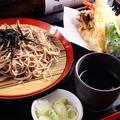 料理メニュー写真【冷たいそば】天ざるセット