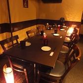8名様テーブル