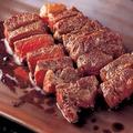 料理メニュー写真牛ロースステーキ(前沢牛使用)