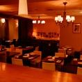 【貸切】2Fレストランフロア 最大着席時40名様立食時60名様まで対応可。