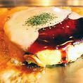 極上、ふわふわのスフレ生地にやみつき★スフレチーズ玉に濃厚ホワイトソースは890円!!