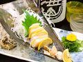 料理メニュー写真たいら貝のお刺身