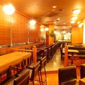 カフェ使いもできる落ち着いた店内。スタイリッシュな時間を過ごしたいビジネスマンやOLにオススメのお店です。