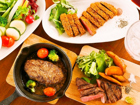 お肉と野菜のバルスタイル♪
