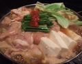 料理メニュー写真自慢のモツ鍋