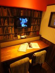 2名様~ご利用可能なカップルシートも♪カフェのような可愛い空間★