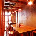 ◆様々なシーンにご利用頂けます!◆15名様ほどならプチ個室感味わえる空間や40名様~貸切なども行っております!気取り過ぎずオシャレな空間は、色々なお集まりに◎