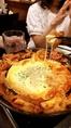 大人気のチーズタッカルビやサムギョプサルなど本場韓国料理もございます!