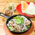 料理メニュー写真メキシカンチキンのファフィータ