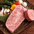 料理メニュー写真『国産和牛の鉄板焼き』
