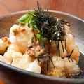 料理メニュー写真ふわふわ納豆の餅揚げ