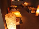 テーブル席はフロアを貸し切れば最大40名様迄利用可能な宴会場としてもご利用可能です♪