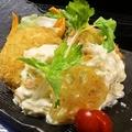 料理メニュー写真自家製カニクリームコロッケ(カニ味噌入り)