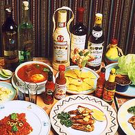 お腹一杯メキシカン料理を楽しんで☆