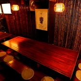 【7~16名様】16名が一度に座れるテーブル席は、宴会に最適です♪