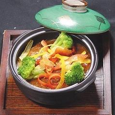 じっくり煮込んだ厚切り牛タンと季節野菜のシチュー