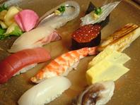 伝統の江戸前寿司