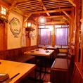 【テーブル席】3名様×3卓