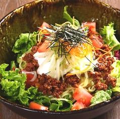 ラーメンサラダ・担々麺風