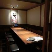 テーブル席も個室空間☆10名様個室席はプライベートなお食事にもピッタリ♪ご友人・お仕事仲間などの親しい仲での空間をお楽しみ頂きながら、ゆっくりとお食事をお楽しみ頂けますので、是非ご利用くださいませ☆☆【梅田 居酒屋 個室 飲み放題 宴会 昼宴会】