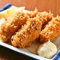 料理メニュー写真広島産大粒カキフライ