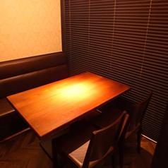 - 4名テーブル半個室 -