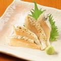 料理メニュー写真まぐろ/炙りサーモン/いか