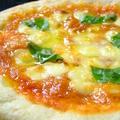 料理メニュー写真シェフの気まぐれピッツァ/なすとひき肉のピッツァ