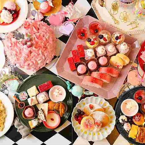 アンド スウィーツ!スウィーツ!ビュッフェ!アリス &sweets!sweets!buffet!Alice 仙台フォーラス店