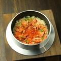 料理メニュー写真鮭いくら釜飯