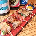 料理メニュー写真当店名物!新潟食材で豚バラ巻き串