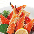 料理メニュー写真たらば蟹の茹で盛り