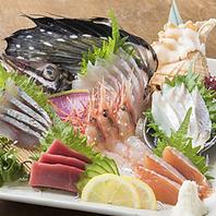 【新選食材】毎日厳選された産地直送の新鮮な魚介