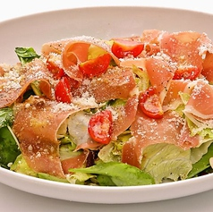 塩気がちょうどいい! イタリア産プロシュートとルーコラのサラダ (S)