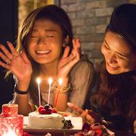 Birthday特典♪誕生日・記念日はホールケーキ無料!!