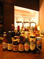 沢山のビールが楽しめるお店
