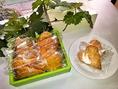 店内で販売している人気の焼き菓子です。(10個入り900円)