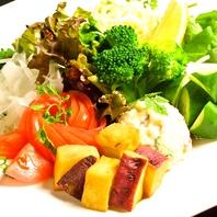 旬な野菜たっぷり!