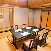 4名でのご会食にお勧めのお席。企業様の会食・接待・ランチ宴会などにどうぞ。