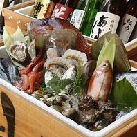独自の仕入れルートによる朝採れ鮮魚!!