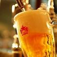 【100年以上愛され続けた究極の生ビール】すっきりとクリアな飲みやすさ、美しい黄金色ときめ細かな泡とのコントラスト。洋食レストラン銀座のライオンは6種類のビールが楽しめるビール専門店です。ビールが飲める飲み放題もございます。宴会や団体飲み会にぜひ、当店をご利用ください。フロアー貸切も行っております♪