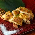 料理メニュー写真肥後赤鶏もも肉1枚炭火焼き