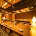 全席完全個室なのでお客様だけの空間でお食事を楽しむことができます!国分寺での飲み会・歓送迎会・・同窓会・宴会におすすめ◎