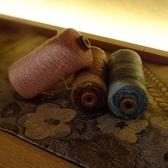 桐生の老舗「美喜仁」の高崎店。桐生織もインテリアとして飾られています