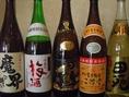 焼酎・梅酒各種。他にもビール、ワイン、日本酒なども!