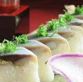 料理メニュー写真名物!にしん棒寿司